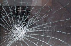 玻璃打碎了 库存图片