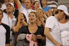 297 Federer jest mirka vavrinec żona Fotografia Stock
