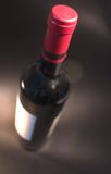 瓶好意大利酒 免版税图库摄影