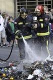 29M - Burning di Barcellona Immagine Stock Libera da Diritti