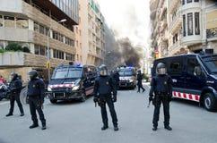 29m palenie Barcelona Zdjęcie Stock