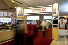 29ste de Internationale Boekenbeurs 2010 van Kuala Lumpur Stock Foto's