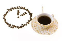 2a kaffe M Fotografering för Bildbyråer