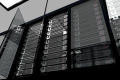 2b pokoju serwer Obraz Stock