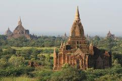 2个bagan寺庙 免版税图库摄影