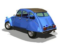 2cv 3D Royalty Free Stock Photos