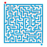 2D Maze royalty free stock photography