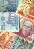 2个de墨西哥墨西哥比索 免版税库存图片