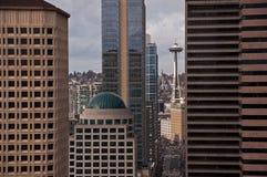2do Avenida Seattle Imagen de archivo libre de regalías