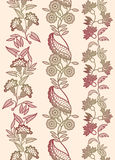 2floral ornament Stock Images