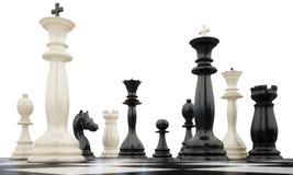 2kings chess5 Zdjęcie Stock