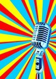 2迪斯科mic 免版税图库摄影
