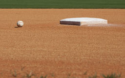 2nd Base Stock Photography