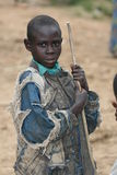 2nd Nov 2008. Refugees from DR Congo Royalty Free Stock Image