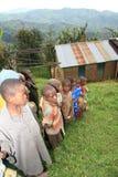 2nd Nov 2008. Refugees from DR Congo stock photos