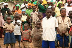Free 2nd Nov 2008. Refugees From DR Congo Royalty Free Stock Photography - 7515567