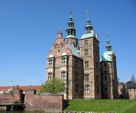 2座城堡rosenborg 免版税库存图片