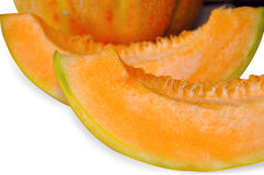 2slice melone Stock Image