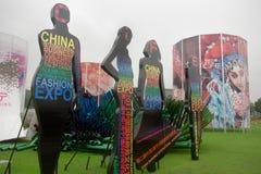 The 2th China international fashion expo. June 17 , 2011 in Naningning, Guangxi,China Stock Image