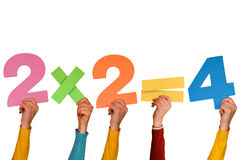 2x2=4 Royalty Free Stock Photo
