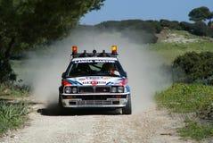 3° Rally del Corallo. FIA European Historic Rally Championship - Coef. 2 - 3° Rallye del Corallo - Alghero - Sardegna - Italia - 12/14 Mar 2009 stock images