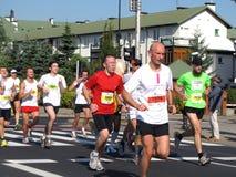 A 3á maratona de Varsóvia, setembro 25, 2011 Imagens de Stock Royalty Free