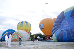 3ème Fiesta chaude internationale de ballon à air de Putrajaya Image libre de droits