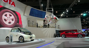 3ò Mostra de motor internacional 2011 de Banguecoque Fotos de Stock