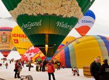 3ô Festival Internacional de Ballons Foto de Stock Royalty Free