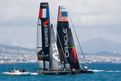 3ô Série de mundo 2012 do copo de América em Nápoles Imagens de Stock