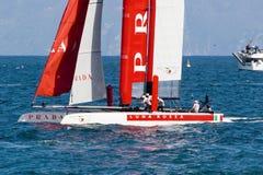 3ô Série de mundo 2012 do copo de América em Nápoles Fotos de Stock Royalty Free