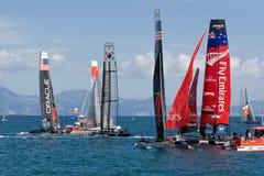 3ô Série de mundo 2012 do copo de América em Nápoles Foto de Stock Royalty Free