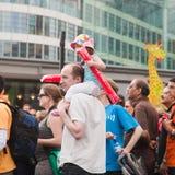 3ø Maratona de Londres Imagem de Stock Royalty Free