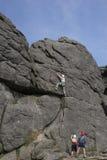 3上升的岩石 免版税库存照片