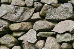 3不用灰泥只用石块构造 库存照片