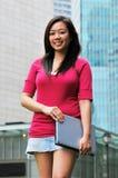 3个亚洲人女孩 免版税库存图片
