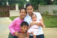 3个亚洲人系列 免版税库存图片