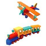 3个例证玩具 库存图片