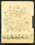 3个册页照片 免版税库存照片