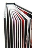 3个册页黑色照片 库存图片