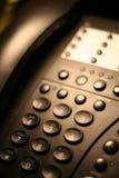 3个办公室电话 免版税库存照片