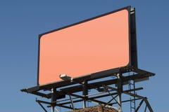 3个广告牌空白 免版税库存照片