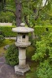 3个庭院日本灯笼石头 免版税图库摄影