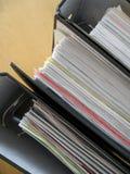3个文件 免版税库存图片