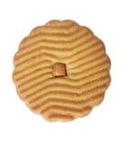 3个曲奇饼包括的路径花生酱 库存图片