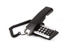 3个服务台电话 库存照片