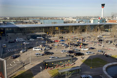 3个机场heathrow终端 免版税库存图片