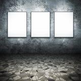 3个框架 免版税库存图片