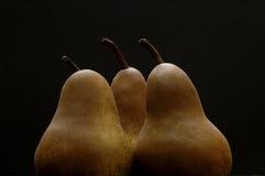 3个梨 免版税库存图片