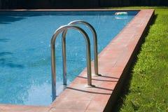 3个池游泳 免版税库存图片